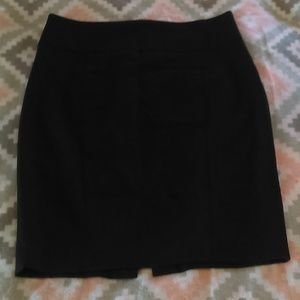 Zara Basic Size 8 Black Pencil Skirt